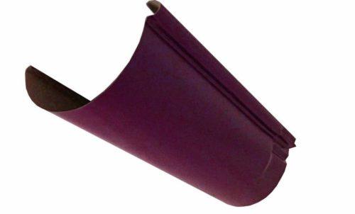 Желоб, Евро, D 125 мм, L 2 м, вишневый / 3005