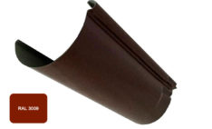 Желоб, Евро, D 125 мм, L 2 м, терракотовый / 3009
