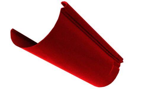 Желоб, Евро, D 125 мм, L 2 м, красный / 3011