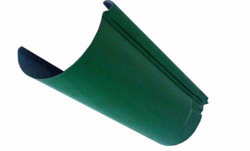 Желоб, Евро, D 125 мм, L 2 м, темно-зеленый / 6005