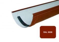 Желоб, Стандарт, D 125 мм, L 1 м, терракотовый / 3009