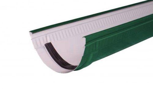 Желоб, Стандарт, D 125 мм, L 1 м, темно-зеленый / 6005