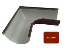 Желоб угловой 90*, Евро, D 125 мм, терракотовый / 3009