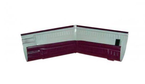 Желоб угловой 135*, Стандарт, D 125 мм, вишневый / 3005