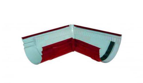 Желоб угловой 90*, Стандарт, D 125 мм, красный / 3011