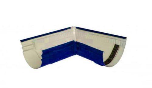 Желоб угловой 90*, Стандарт, D 125 мм, синий / 5005