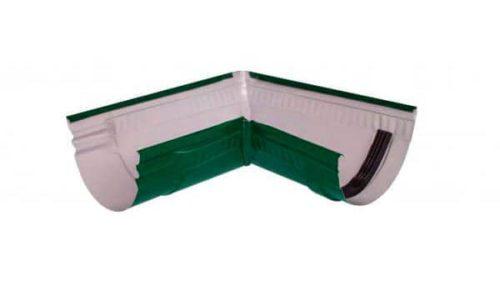 Желоб угловой 90*, Стандарт, D 125 мм, темно-зеленый / 6005
