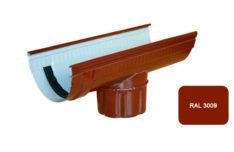 Канадка проходная, Евро, D 125 мм, L 3.1 м, терракотовый / 3009