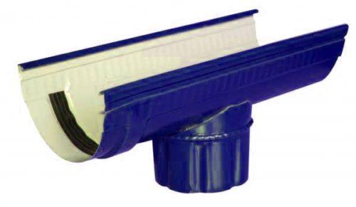 Канадка проходная, Евро, D 125 мм, L 3.1 м, синий / 5005