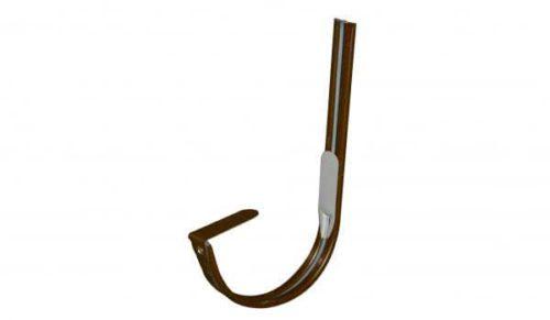 Крепление  желоба крюк, D 125 мм, терракотовый / 3009