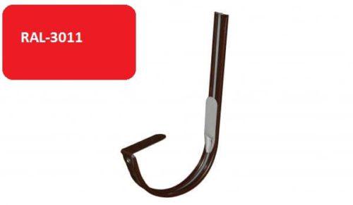 Крепление  желоба крюк, D 125 мм, красный / 3011
