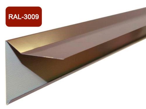Планка фронтона для мягкой кровли, терракотовый / 3009