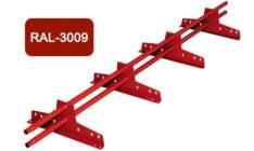 Снегозадержатель универсальный L 3000 мм, терракотовый / 3009