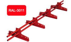 Снегозадержатель универсальный L 3000 мм, красный / 3011