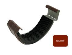 Соединитель желоба с резиновым уплотнителем, Евро, D 125 мм, терракотовый / 3009